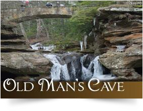 Old Man's Cave, Hocking Hills, Ohio
